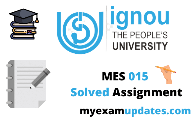 ignou-mes-015-solved-assignment