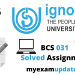 ignou-bcs-031-solved-assignment